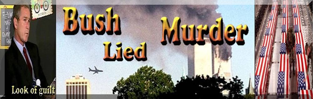 Bush Lied Header